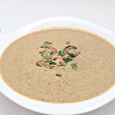 Supa crema de ciuperci (de post)-350gr