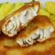 Salau pane cu sos de lamaie –150gr